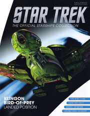Star Trek Official Starships Collection KBoP Landed Position cover