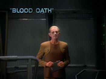 Blood Oath title card