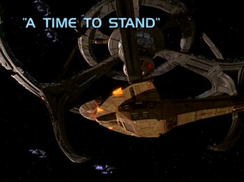 A Time to Stand title card