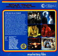 Back cover Star Trek The Motion Picture, Super 8 (German 3-reel edition, part 3)