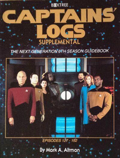 Captains Logs Supplemental