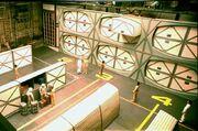 Constitution class cargo bay set