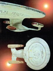 Galaxy class four foot model passed off as a studio model by Profiles in History