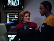 Janeway zweifelt an der Untersuchung über Kovin