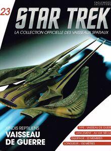 La collection officielle des vaisseaux spatiaux SSS-FR-081-M
