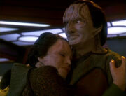Tora Ziyal and Elim Garak, 2373