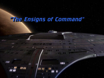 The Ensigns of Command title card