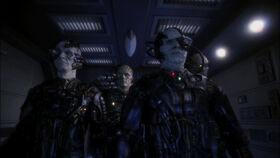 Borg aboard enterprise, 2153