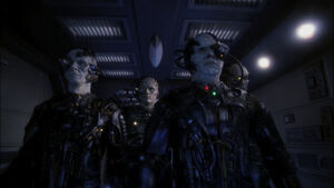 Borg aboard enterprise, 2153
