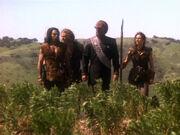 Die Klingonen kommen zum Kampf gegen die Zeit
