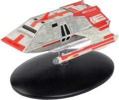 Eaglemoss Starfleet Med Evac Shuttle