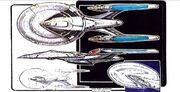 Enterprise-E final design sketch