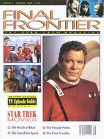 Final Frontier issue 2 cover