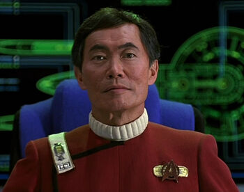 "Captain Sulu in <a href=""/wiki/2293"" title=""2293"">2293</a>"