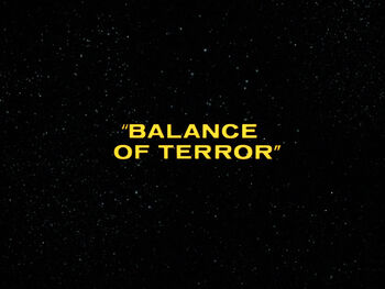 Balance of Terror title card