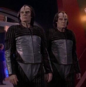 Ah-Kel and Ro-Kel, a set of twinned Miradorn males