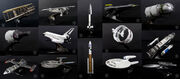 QMx Star Trek Into Darkness starship props