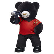 Redshirt bear