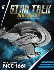 Star Trek Discovery Official Starships Collection issue 9