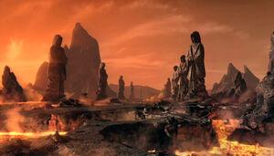 Fire plains