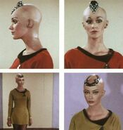 Persis Khambatta screen tests for her role as Ilia