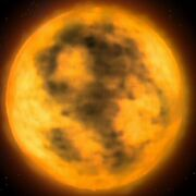 Red supergiant, The naked now