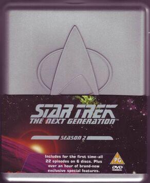 TNG Season 2 DVD-Region 2