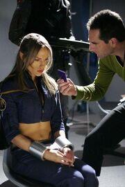 Archer interrogates T'Pol