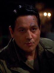 Chakotay als Captain Miller