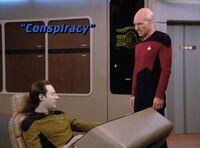 Conspiracy - scena tytułowa
