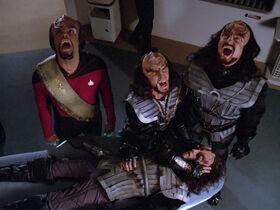 Klingon death ritual