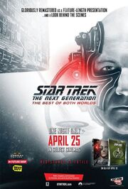Regeneration Engaging the Borg poster