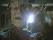 Seven of Nine severed from Collective