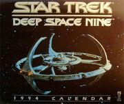 Star Trek DS9 Calendar 1994