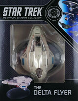 Star Trek Official Starships Collection Delta Flyer repack 18