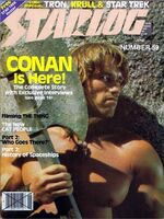 Starlog issue 059 cover