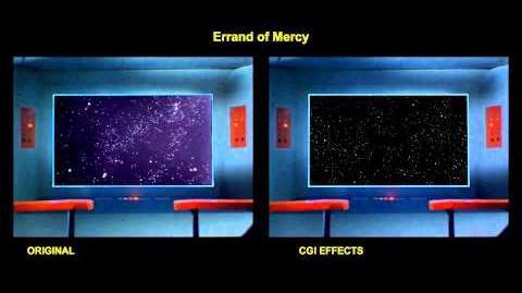 """TOS """"Errand of Mercy"""" - """"Les arbitres du cosmos"""" - comparaison des effets spéciaux"""