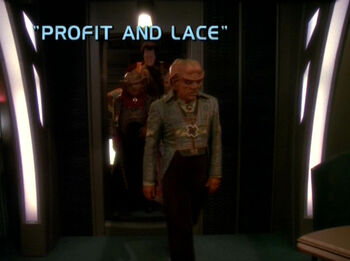 Profit and Lace title card