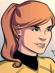 Female Kirk IDW