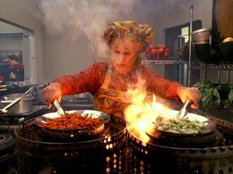 Neelix cooking