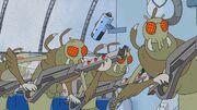 Rick and Morty - Bewaffnete Gromflomiten