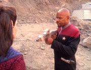 Sisko ist erbost über Kilanas Hinterhalt