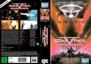 Star Trek V (Kinofassung - Kauf-VHS Cover-Art)