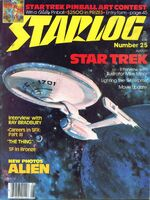 Starlog issue 025 cover