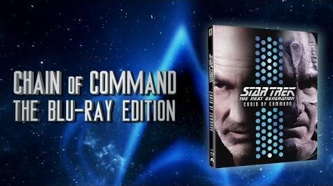 "TNG ""Chain of Command"" - Blu-ray"