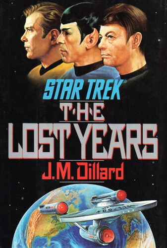Cover of book 1, <i>The Lost Years</i>