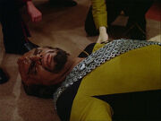 Worf passed out