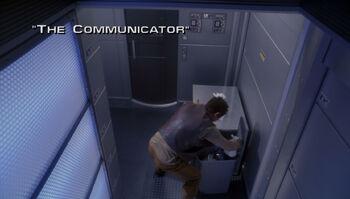 The Communicator title card