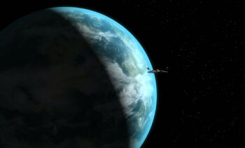 Enterprise enters orbit, 2151