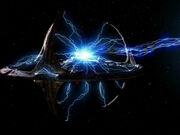 Deep Space 9 als Chronotonphalanx